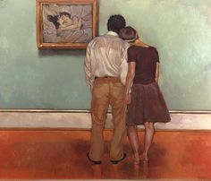 painting by Joseph Lorusso Fine Art Pierre Auguste Cot, Paar Illustration, Joseph Lorusso, Beaux Couples, Henri De Toulouse Lautrec, Saatchi Gallery, Art Plastique, Oeuvre D'art, Lovers Art