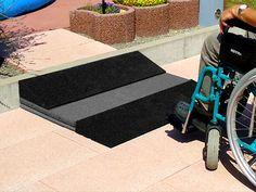Modulare Rollstuhlrampe
