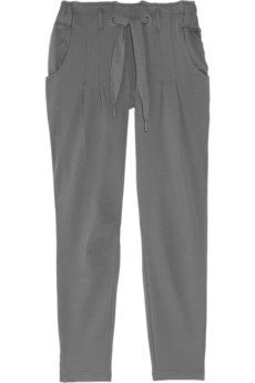 Organic cotton jersey track pants..? Why am I not wearing these?