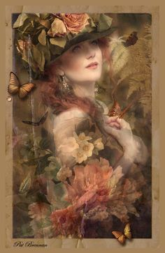 Butterfly Garden by patriciabrennan.deviantart.com on @deviantART