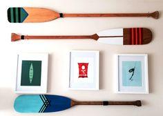 DIY Painted Oars!