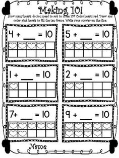 $5 VALENTINE'S DAY MATH AND LITERACY (PRINT & GO-COMMON CORE ALIGNED) 40 PAGES - TeachersPayTeachers.com