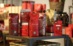 When Starbucks Goes Red: Introducing Starbucks Holiday 2013 - The Dieline -