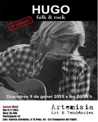 Concierto de folk & rock con Hugo Nubiola