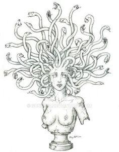 Medusa Tattoo by sonne22