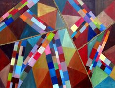 Istvan Bauer Contemporary Artists, Quilts, Painting, Comforters, Quilt Sets, Painting Art, Paintings, Log Cabin Quilts, Lap Quilts