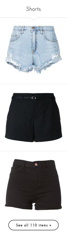 """Shorts"" by natalialovesnutella ❤ liked on Polyvore featuring shorts, bottoms, short, jeans, pants, blue, ripped short shorts, bohemian shorts, distressed shorts and boho shorts"