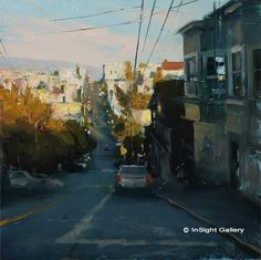 Artist: Hsin-Yao Tseng - Title: Afternoon Light Over Potrero Hill