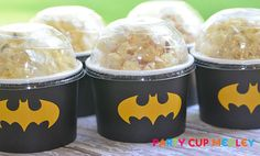 Hey, I found this really awesome Etsy listing at https://www.etsy.com/listing/188758346/batman-birthday-party-ice-cream-cups