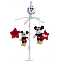 Disney Baby Mickey Mouse Mobile, Multicolor