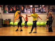 (1) ZUMBA WARM UP/DANCE - Mmm Yeah - YouTube