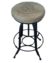 Cool new stools! Rustic Wood Furniture, Online Furniture Stores, Foot Rest, Couches, Stools, Solid Wood, Upholstery, Chairs, Bar