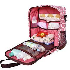New Waterproof Baby Diaper Nappy Backpack Mummy Bag Handbag Shoulder Bag Baby Dolls For Kids, Little Girl Toys, Baby Girl Toys, Toys For Girls, Baby Alive Doll Clothes, Baby Alive Dolls, Baby Set, Baby Doll Strollers, Boy Diaper Bags