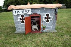 Dog Houses « Pitbull Dog History Facts Stories Photos