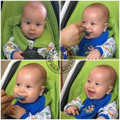 Introducing Solids to Baby with The Perfect Spoon!