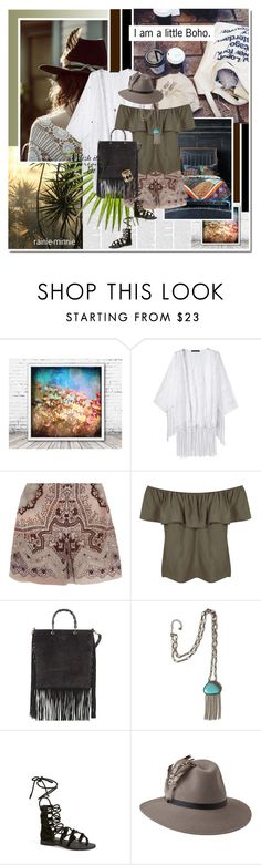 """""""I am a little Boho.."""" by rainie-minnie ❤ liked on Polyvore featuring Free People, Etro, Miss Selfridge, Gucci, Jeffrey Campbell, Penmayne of London, House of Harlow 1960, women's clothing, women and female"""