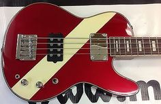 """Musicvox Space Cadet 34"""" Custom Bass 4 Numbered Made In Red Stripe Thunder Best!"""