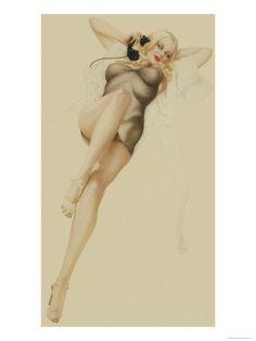 Varga girl 1940