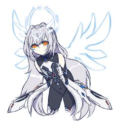Elsword Kawaii Anime Girl, Anime Art Girl, Elsword Eve, Cyberpunk Character, Angels And Demons, Beautiful Anime Girl, Fantasy Girl, Anime Style, Beautiful Artwork