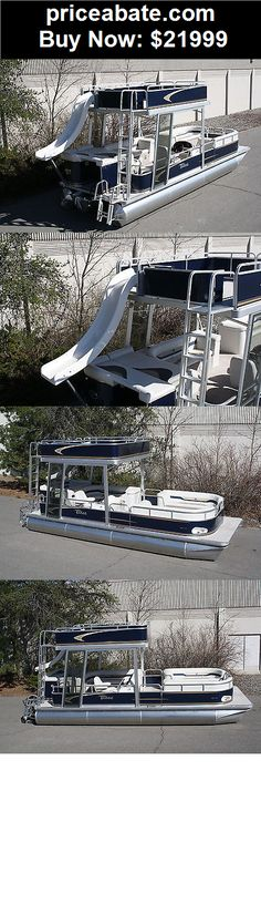Boats: Special---New  24 ft pontoon boat with slide  - BUY IT NOW ONLY $21999