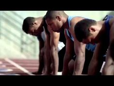 inspirational commercial via dick's sporting goods store. LOVE this