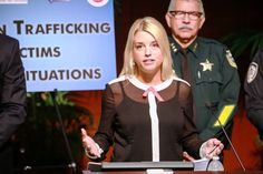 """Attorney General of Florida Pam Bondi said """"thousands of rape kits are untested""""."""