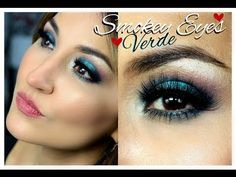 """Noite de Verão """"Smokey Eyes Verde"""" - YouTube"""