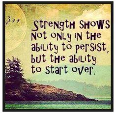 Inner strength.....