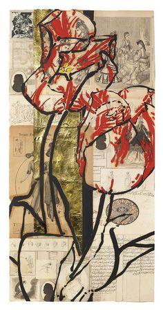 Robert Kushner, Anemone and Stock Art Floral, Robert Kushner, Mix Media, Art Tutorials, Painting Inspiration, Collage Art, Art Lessons, Flower Art, Paper Art