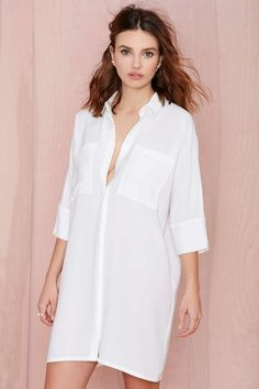 Hideaway Shirtdress | Shop What's New at Nasty Gal