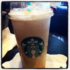 Caramel frappuccino ❤