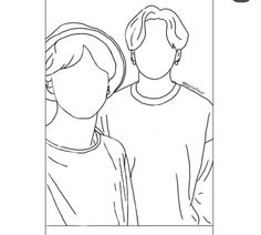 Outline Art, Outline Drawings, Art Drawings Sketches Simple, Bts Tattoos, Kpop Drawings, Scary Art, Applis Photo, Diy Canvas Art, Embroidery Art