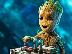 Guardians of the Galaxy 2 Baby Groot Best Funny Movie Clips Marvel Art, Marvel Heroes, Marvel Avengers, Funny Movie Clips, Funny Movies, Comic Movies, Gardians Of The Galaxy, Guardians Of The Galaxy Vol 2, Baby Groot Drawing