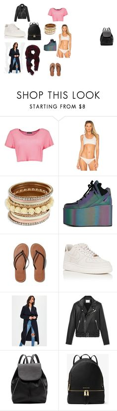 """""""Vison Board"""" by ayshakmcn on Polyvore featuring Boohoo, Aila Blue, Y.R.U., Abercrombie & Fitch, NIKE, Missguided, IRO, Wilfred, Witchery and MICHAEL Michael Kors"""