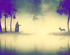 "Severus Snape  Artwork by Syrena. ""Fate…"""