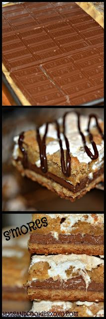 HERSHEY S'MORES BARS.....HEAVENLY