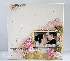 Odskocznia vairatki: Mr&Mrs/DT the MiNi art Scrapbook Pages, Scrapbooking, Mr Mrs, Mini, Handmade, Wedding, Memories, Decor, Art
