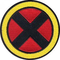 Official Marvel Comics X-Men Superhero Logo Iron on Applique Patch