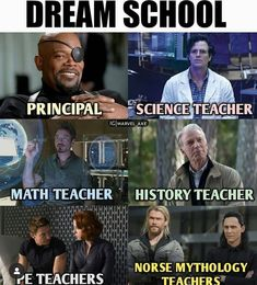 I now it's the wrong fandom but Percy Jackson can be the Greek mythology teacher that oddly always says the gods suck than look at the sky – Quotation Mark Avengers Humor, Marvel Avengers, Ms Marvel, Disney Marvel, Funny Marvel Memes, Dc Memes, Marvel Films, Marvel Heroes, Funny Memes