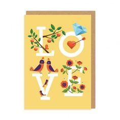 Love Illo Greeting Card