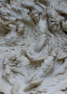 Concept Modeling For Easy Clay Sculptures: – Picture : – Description Order out of Chaos, Western Facade of the National Cathedral — Washington, DC -Read More – Easy Clay Sculptures, Art Sculpture, Michelangelo, Art Plastique, Art And Architecture, Art Reference, Facade, Sculpting, Street Art
