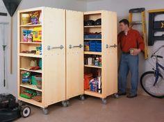 Paint Can Garage Storage | Homemade Garage Storage Ideas