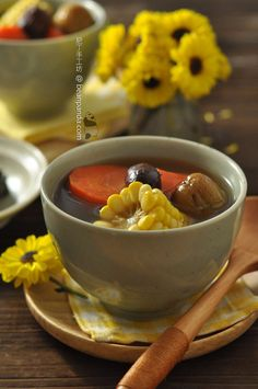 粟米紅蘿蔔菜乾湯【廣東老火靚湯】Dried Bok Choy Soup