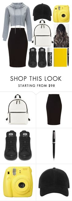 """""""Casual"""" by missmodest17 ❤ liked on Polyvore featuring French Connection, Winser London, Chapstick, Montegrappa, Fujifilm and rag & bone"""