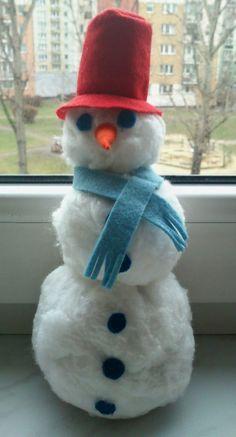 BAŁWAN Z WATY Snowman, Outdoor Decor, Kids, Home Decor, Young Children, Boys, Decoration Home, Room Decor, Children
