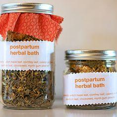 Stitched Together: Tutorial: Postpartum Wellness - An Herbal {Sitz} Bath