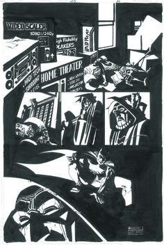 Eduardo Risso - Batman, Broken city #623 pg12 Comic Art