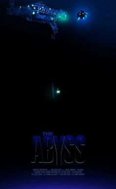 THE ABYSS Classic Movie Posters, Film Posters, Classic Movies, 1980's Movies, Good Movies, Movie Tv, Greatest Movies, The Best Films, Sci Fi Films