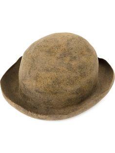 HORISAKI felt bowler hat. #horisaki #hat