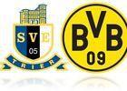 #Ticket  DFB Pokal Eintracht Trier  Borussia Dortmund  4 Tickets Block D Gegengerade #deutschland